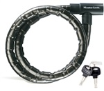 MasterLock pancéřový kabelový zámek 1.20m x 22mm, (8115)