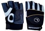 LONGUS rukavice MTB, černé, S