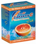 XENOFIT nápoj Zinkaktiv C, grapefruit, 10 sáčků / balení / 2 l