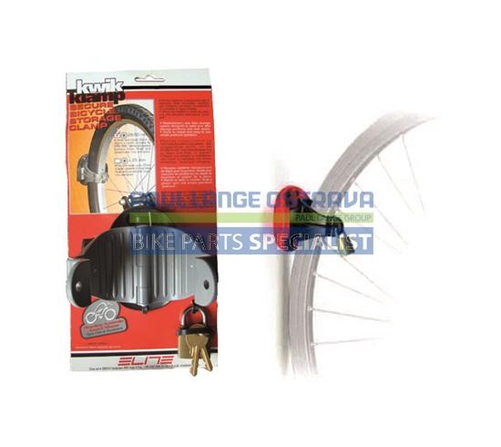ELITE držák kola KWIK KLAMP MTB montáž na zeď