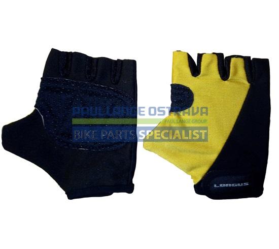 LONGUS dětské rukavice KID, žluté, D2