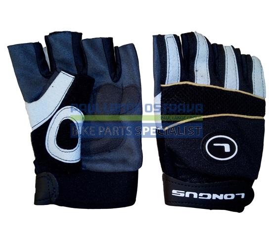 LONGUS rukavice MTB, černé, XL