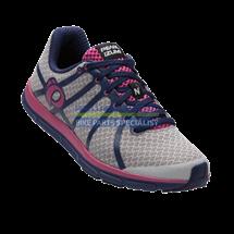 PEARL iZUMi obuv W EM ROAD N1, stříbrná/DEEP INDIGO, EU 39, UK 5,5, US 11