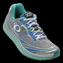 PEARL iZUMi obuv W EM ROAD N2, stříbrná/AQUA MINT, EU 39, UK 5,5, US 9