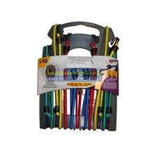 MasterLock bungee guma, set 10 ks, (2x25cm, 2x45cm, 2x60cm, 2x80cm, 2x100cm), (3043)