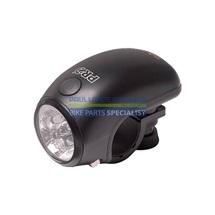 PRO světlo/blikačka přední LED-01, 2 funkce, stříbrné