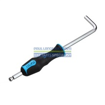 PRO pedálový klíč, šestihran 8 mm