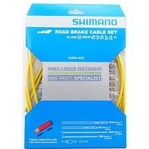 SHIMANO silniční brzdový set BC-9000, žlutý