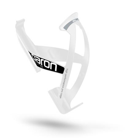 ELITE košík PARON RACE lesklý bílý/černý