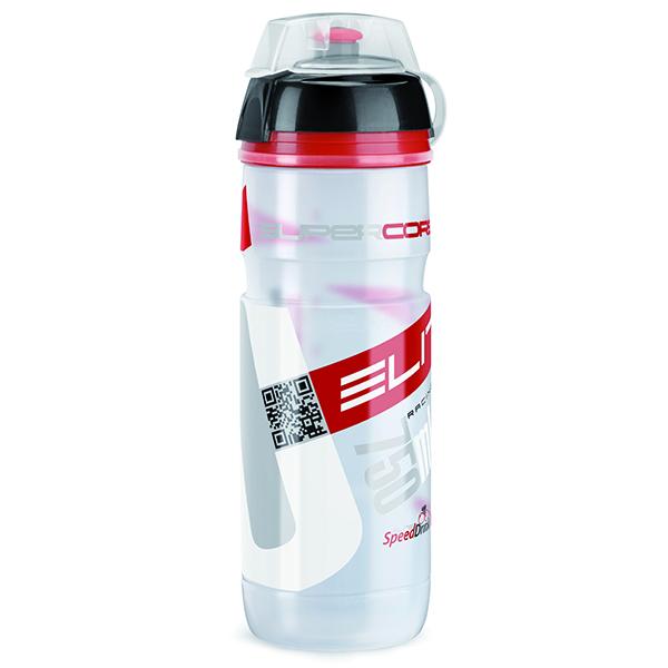 ELITE láhev CORSA MTB čirá/červená 550ml