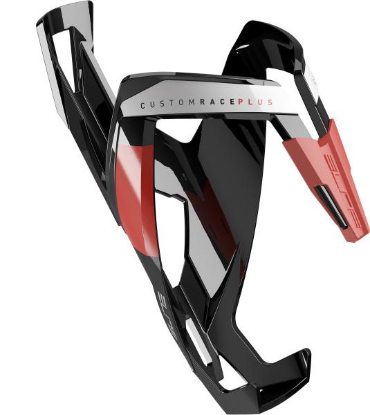 ELITE košík CUSTOM RACE PLUS  lesklý černý/červený