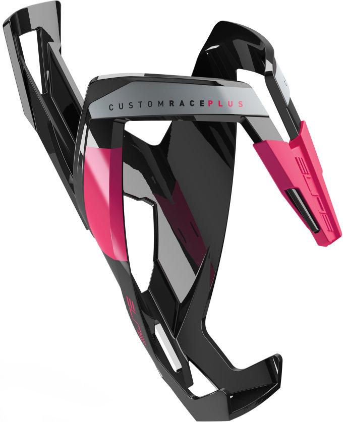 ELITE košík CUSTOM RACE PLUS  lesklý černý/růžový