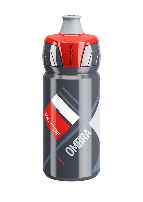 ELITE láhev OMBRA šedá/červená 550ml