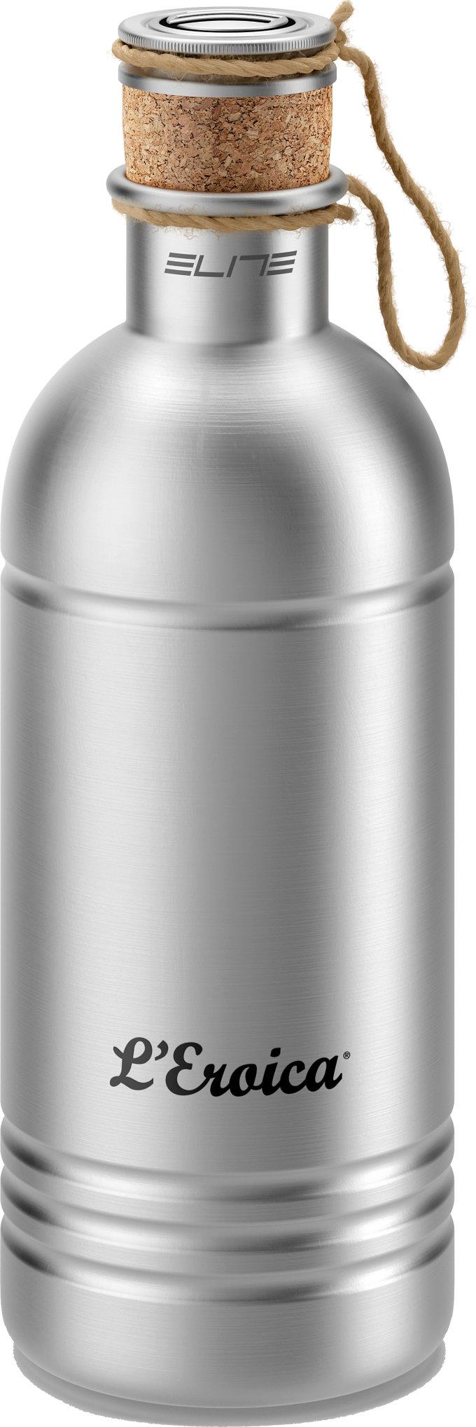 ELITE láhev L'EROICA, Alu, stříbrná, 600 ml