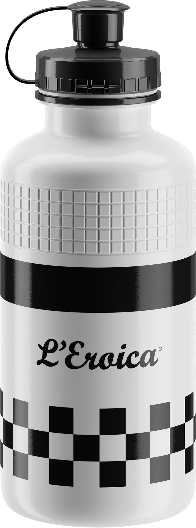 Elite láhev VINTAGE L'EROICA, bílá FRA Classic, 500 ml