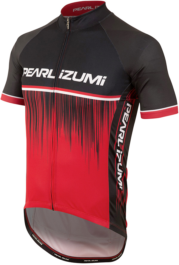 PEARL iZUMi ELITE PURSUIT LTD dres, TRUE červená RUSH, M