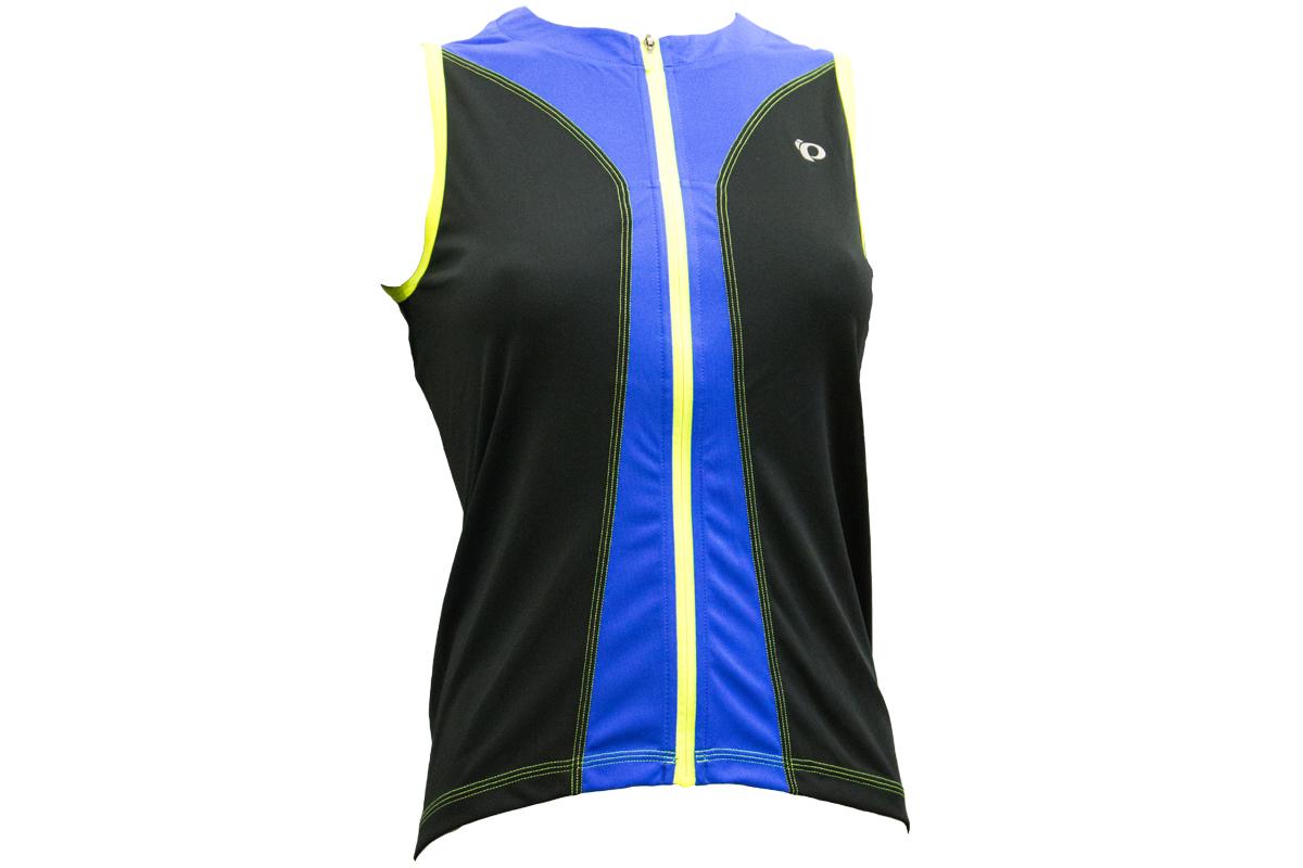 PEARL iZUMi W SELECT PURSUIT SL dres, černá/DAZZLING modrá, M