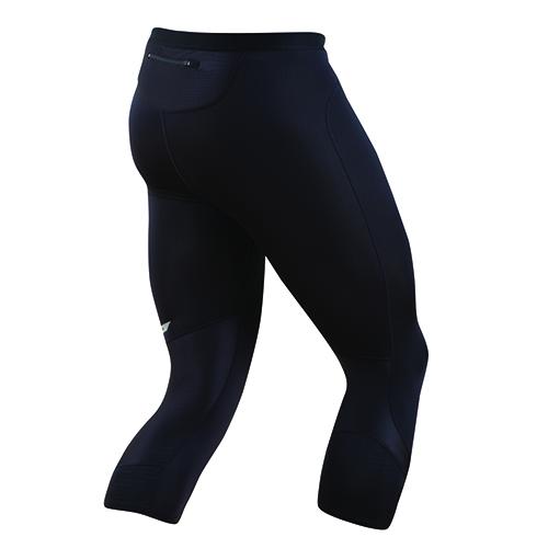 PEARL iZUMi FLASH 3/4 kalhoty, černá, M