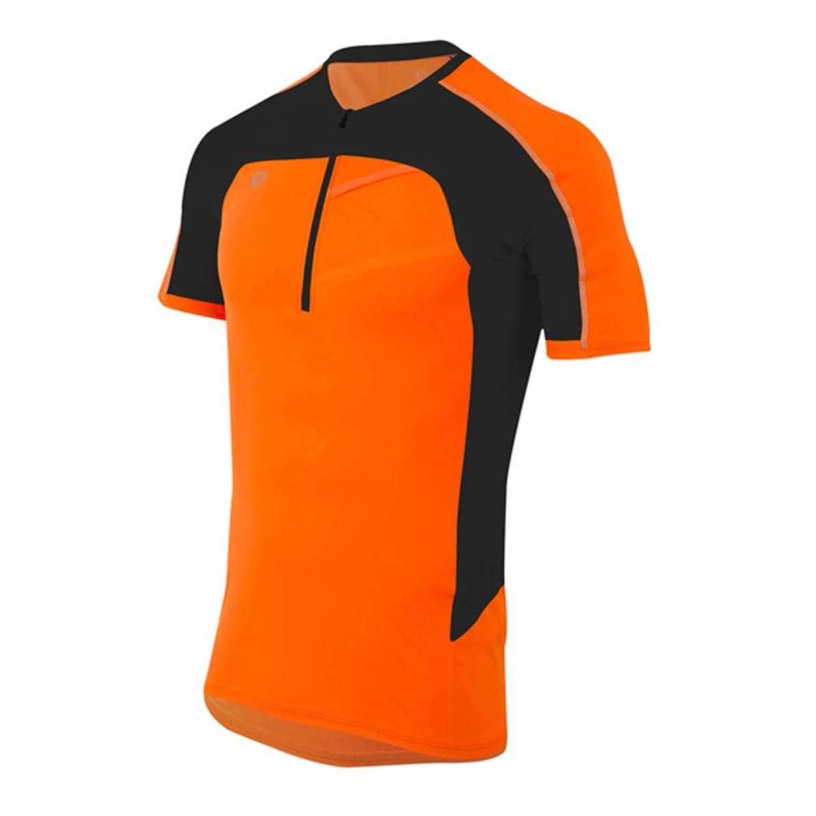 PEARL iZUMi PURSUIT ENDURANCE SS triko, screaming oranžová/černá, L