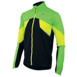 PEARL iZUMi FLY bunda, SCREAMING zelená/SCREAMING žlutá, M