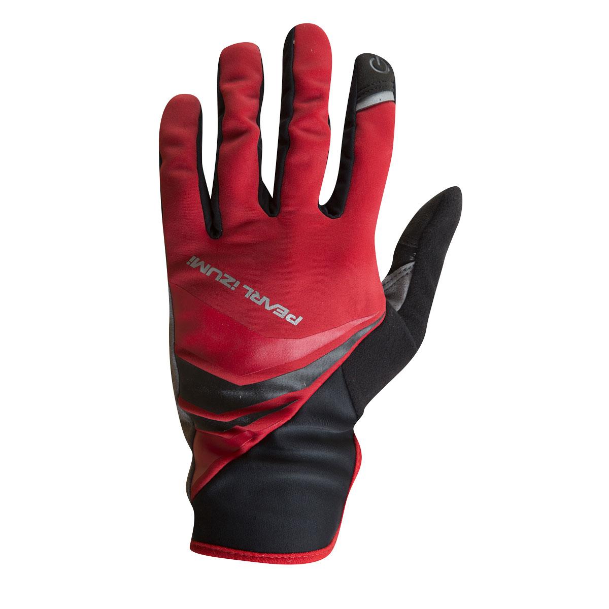 PEARL iZUMi CYCLONE GEL rukavice, TRUE červená, L