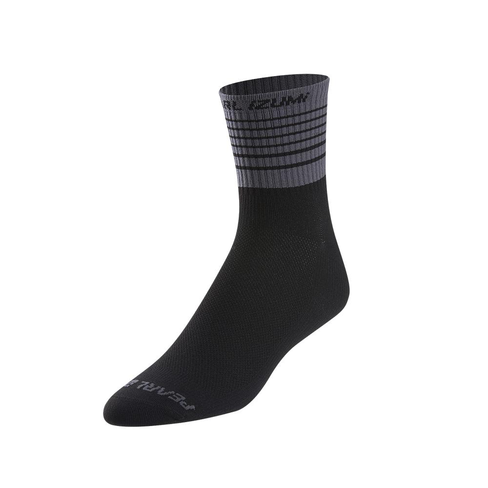 PEARL iZUMi PRO ponožky, černá/SMOKED PEARL, L