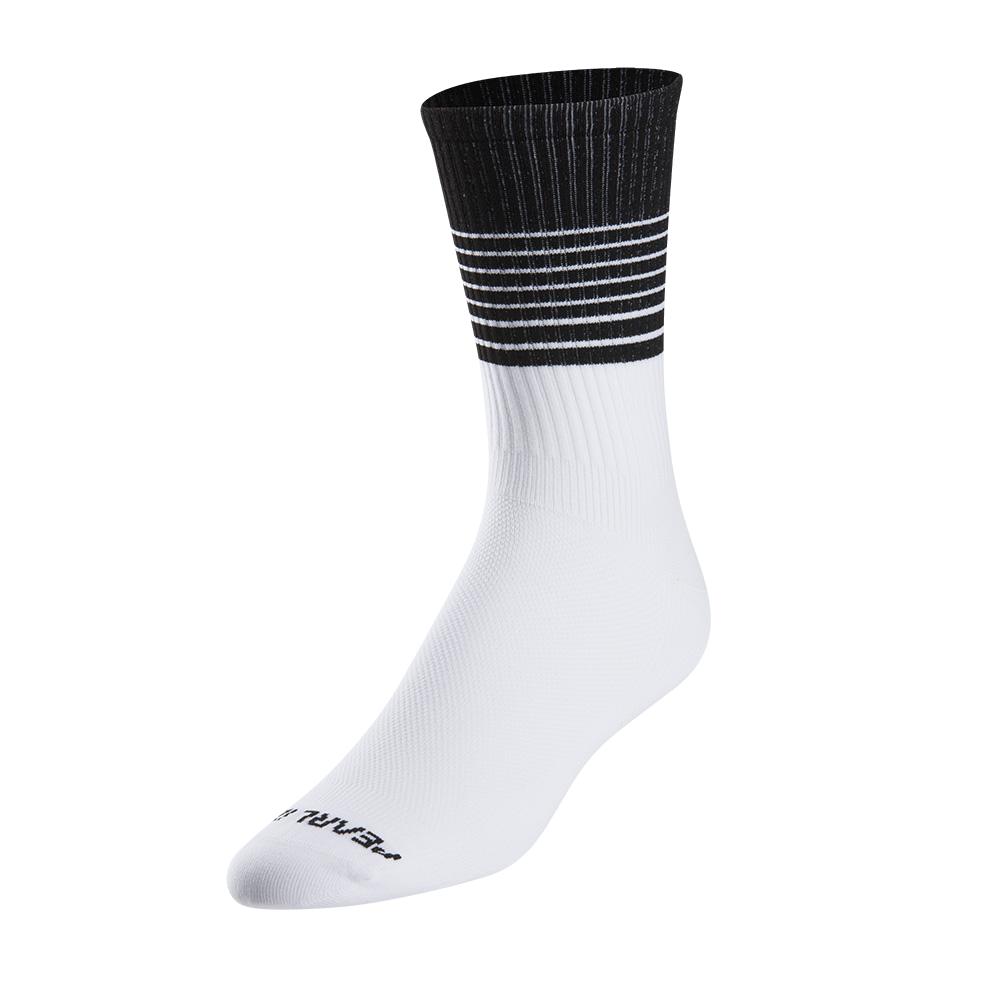 PEARL iZUMi PRO TALL ponožky, bílá/černá, L