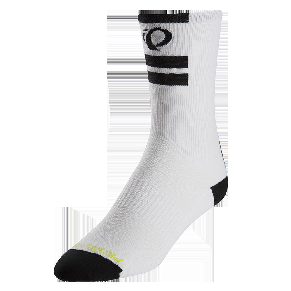 PEARL iZUMi ELITE TALL ponožky, PI CORE bílá, L