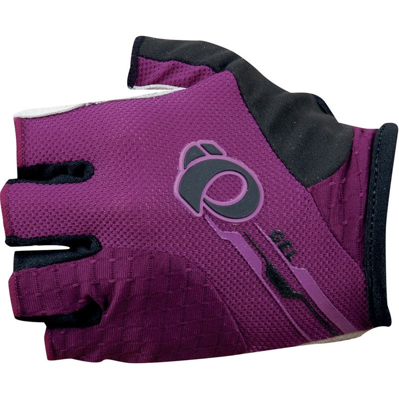 PEARL iZUMi W Elite GEL rukavice, fialová, L