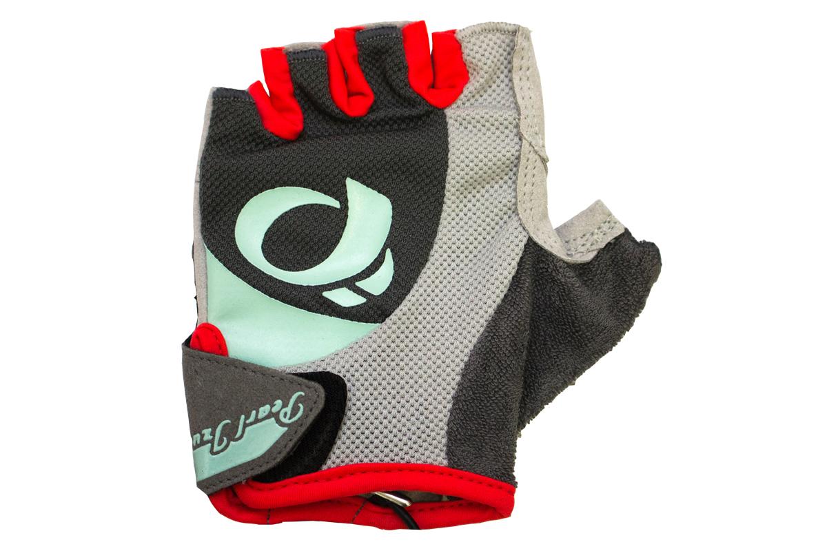 PEARL iZUMi W SELECT rukavice, STEEL šedá / MIST zelená, L