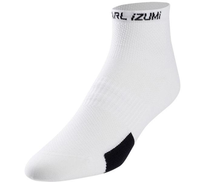 PEARL iZUMi W ELITE ponožky, PI CORE bílá, L