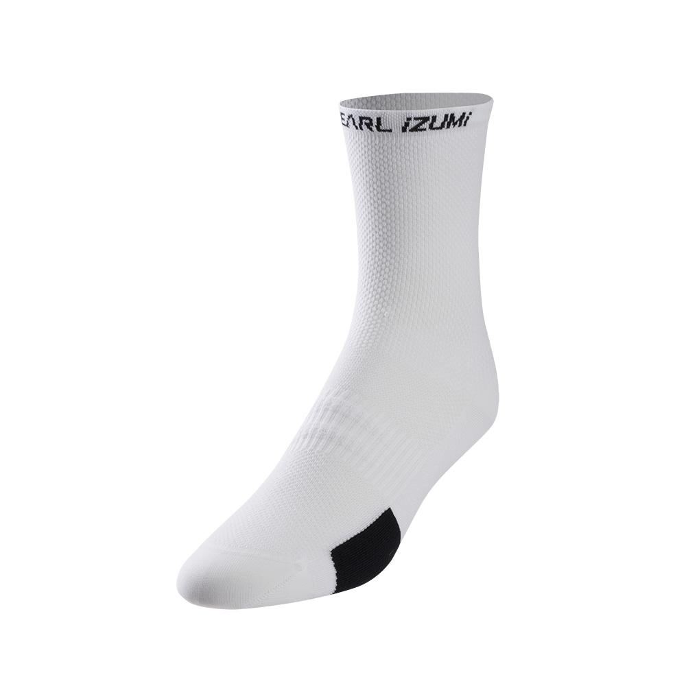 PEARL iZUMi W ELITE TALL ponožky, PI CORE bílá, M