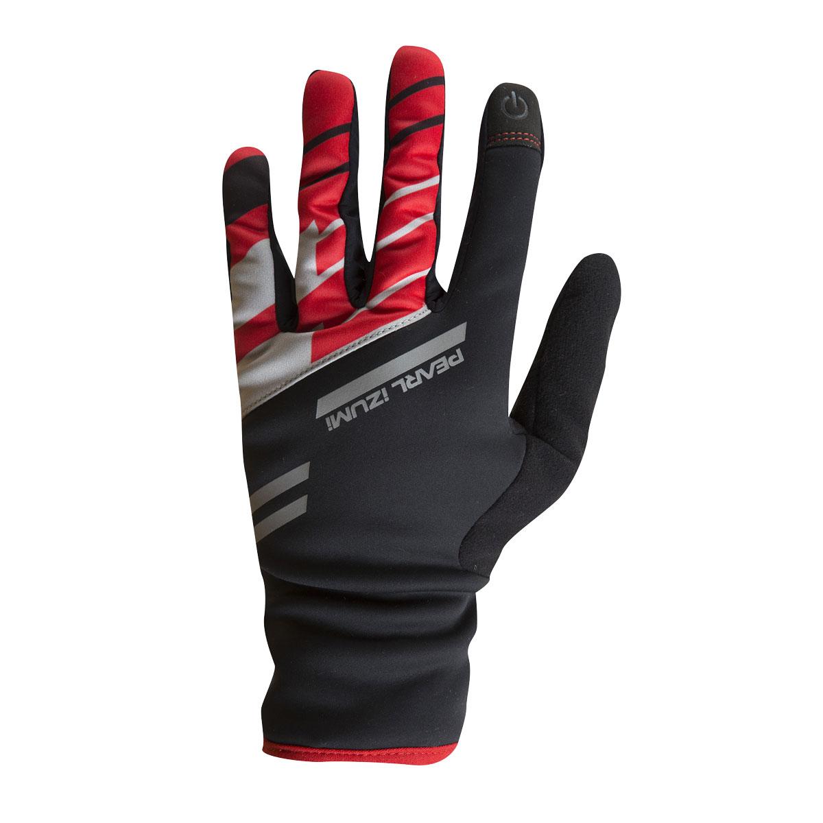 PEARL iZUMi PRO SOFTSHELL LITE rukavice, TRUE červená, L
