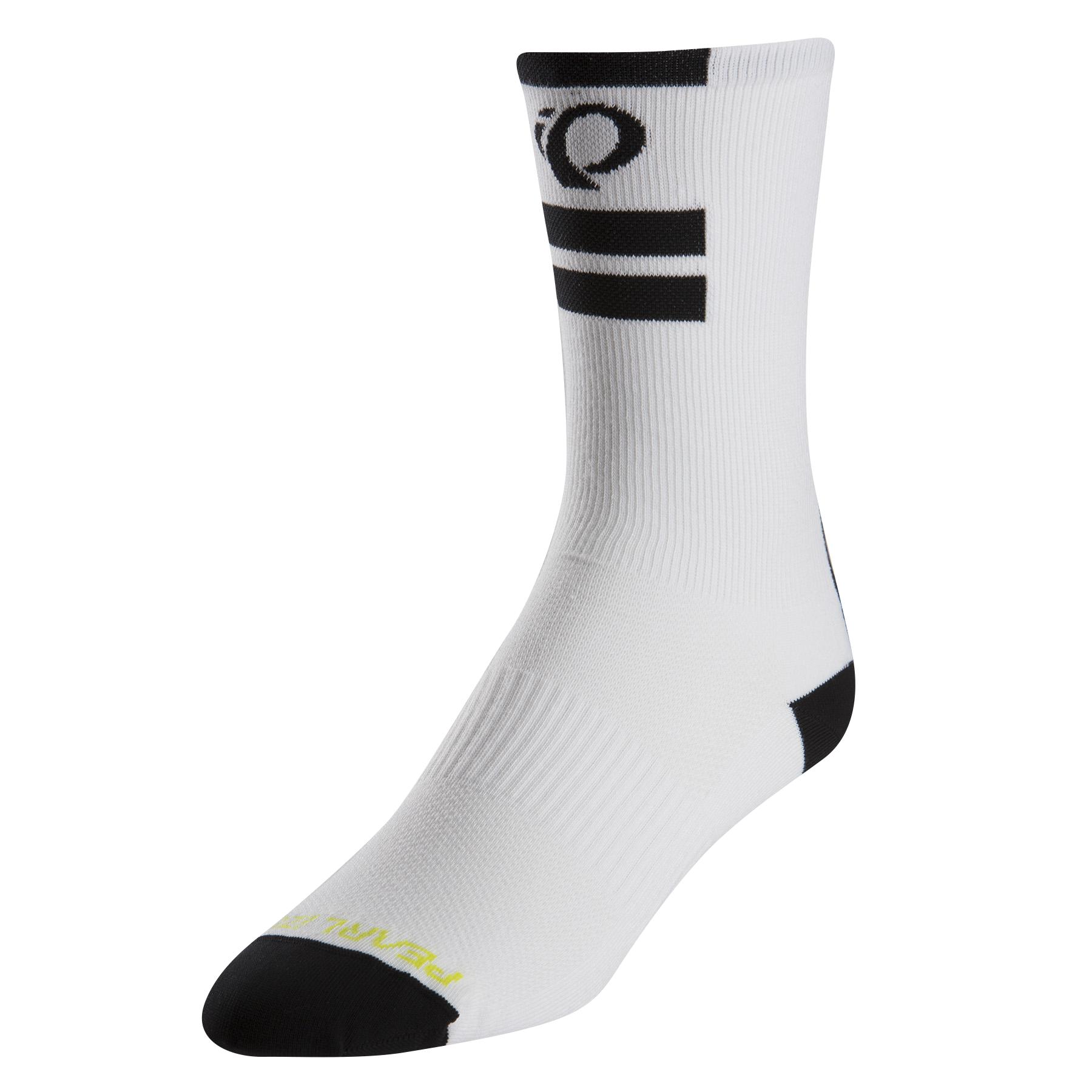 PEARL iZUMi ELITE TALL ponožky, PI CORE bílá, XL