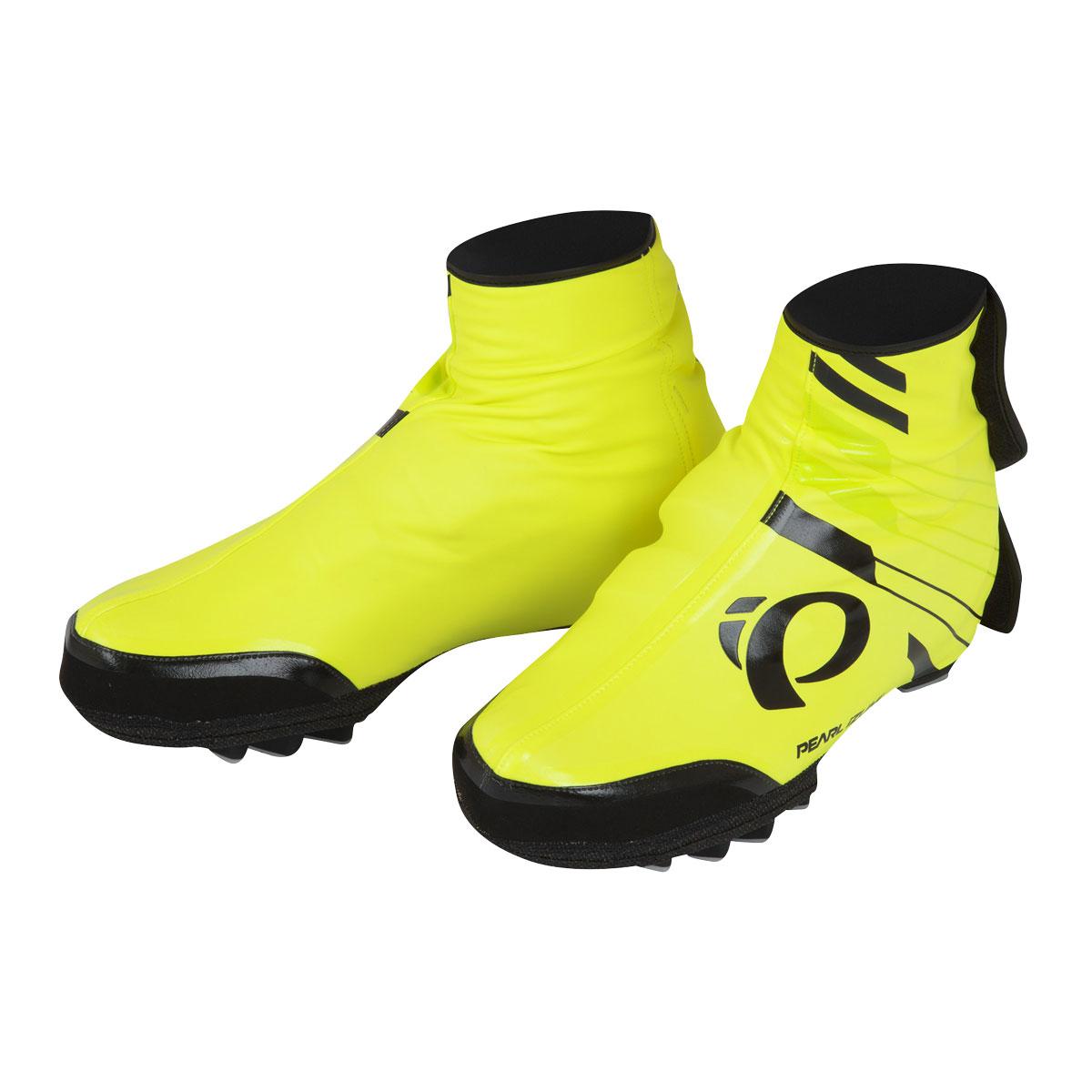 PEARL iZUMi PRO BARRIER WXB MTB návleky na boty, SCREAMING žlutá, L