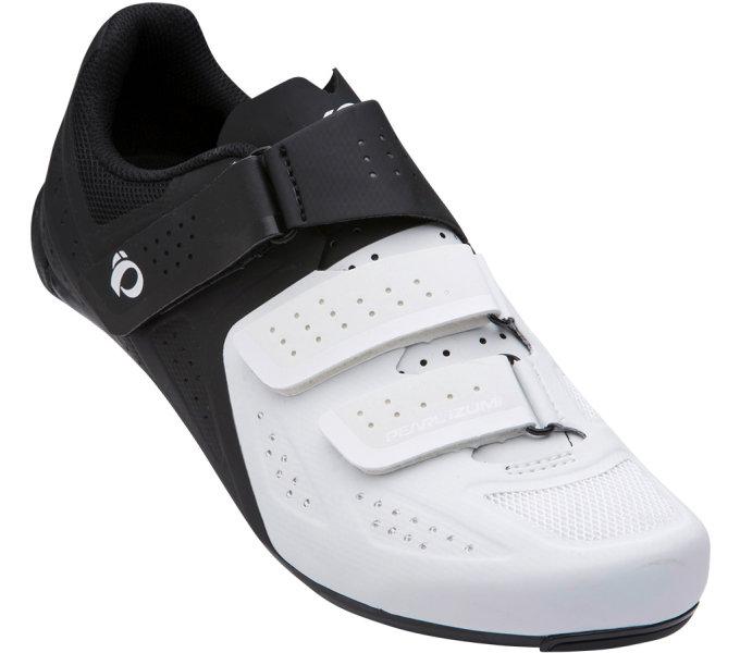 PEARL iZUMi obuv SELECT ROAD v5, bílá/černá, 41.0