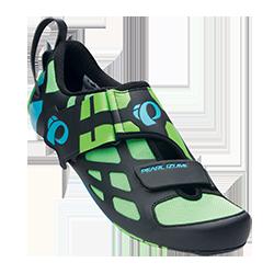 PEARL iZUMi obuv TRI FLY V CARBON, zelená, vel. 47