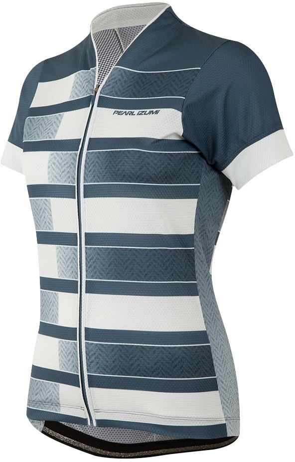 PEARL iZUMi W MTB LTD dres, modrá STEEL HERRINGBONE STRIPE, M