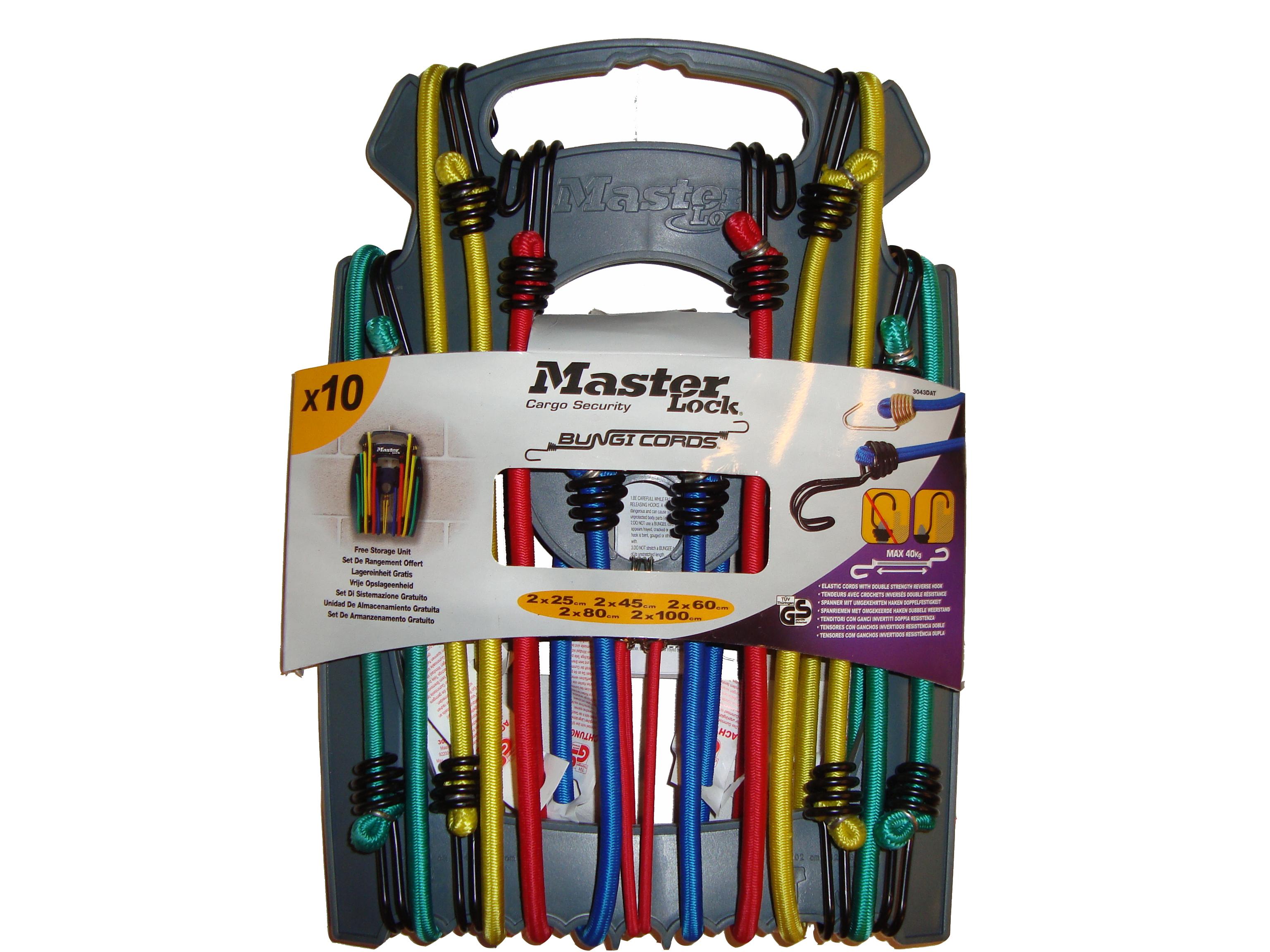 MasterLock stěhovací set, obsahuje 8x bungee a pásy, (3249)