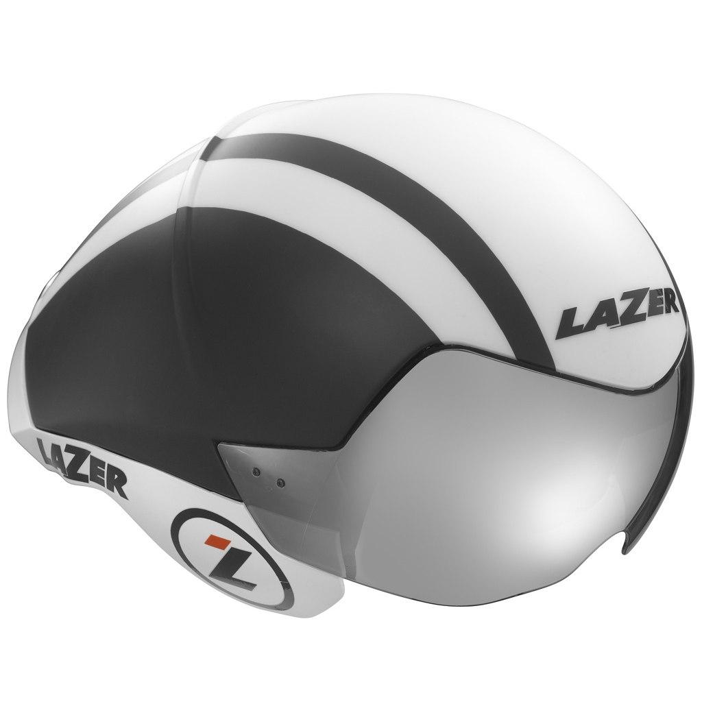 LAZER přilba triathlon WASP AIR černá bílá S 52-56 cm