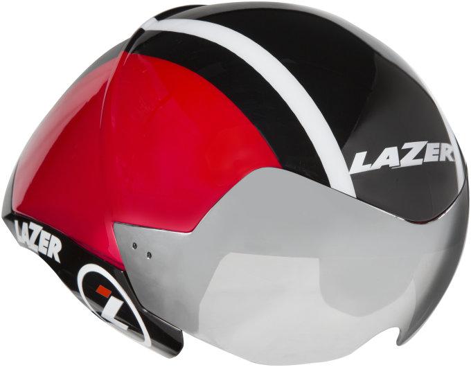 LAZER přilba triathlon WASP AIR černá červená S 52-56 cm