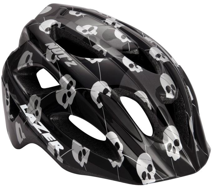 LAZER dětská přilba Nut´z Skulls Black Grey 52-56 cm