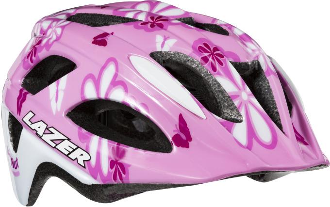 LAZER dětská přilba P´Nut  Flower Pink 46-50 cm