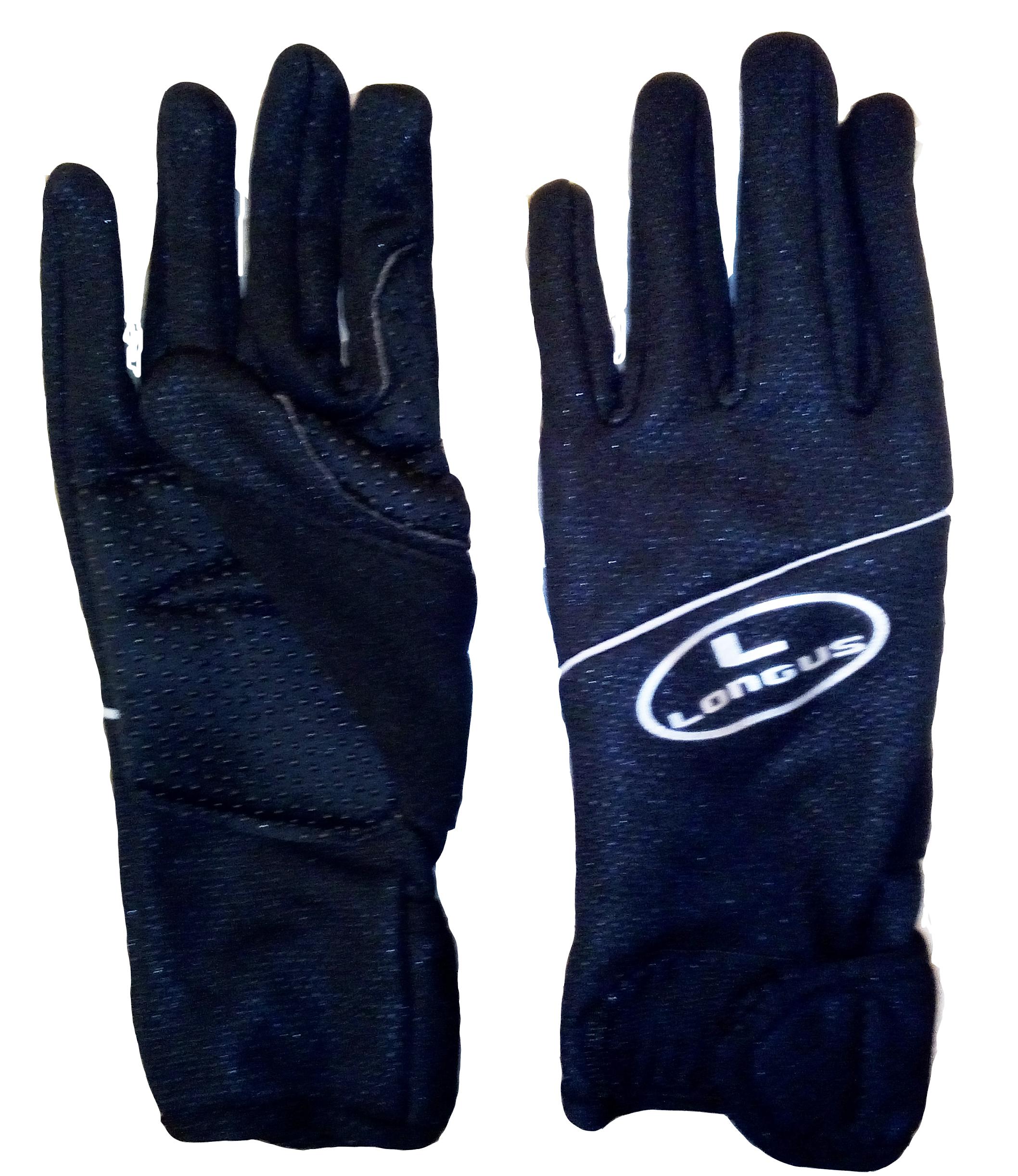 LONGUS zimní rukavice Winter,černé, M
