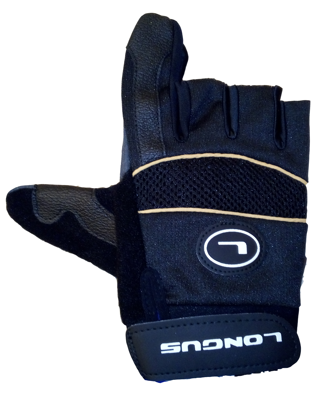 LONGUS rukavice MTB 05, černé, L