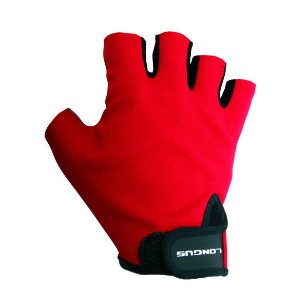 LONGUS rukavice START 06, červené, L