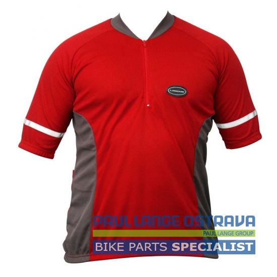 LONGUS dres Basic červený