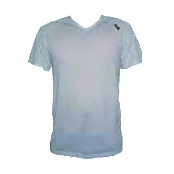 LONGUS triko krátký rukáv, lemovaný V-výstřih COOLMAX, vel.M