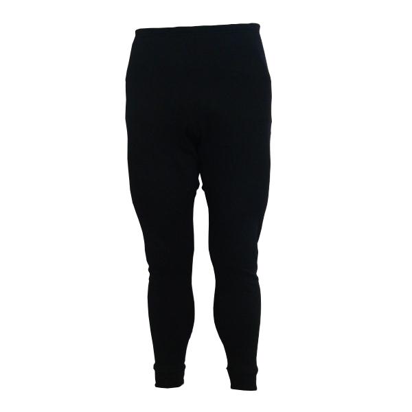 LONGUS kalhoty Termal, černé, M