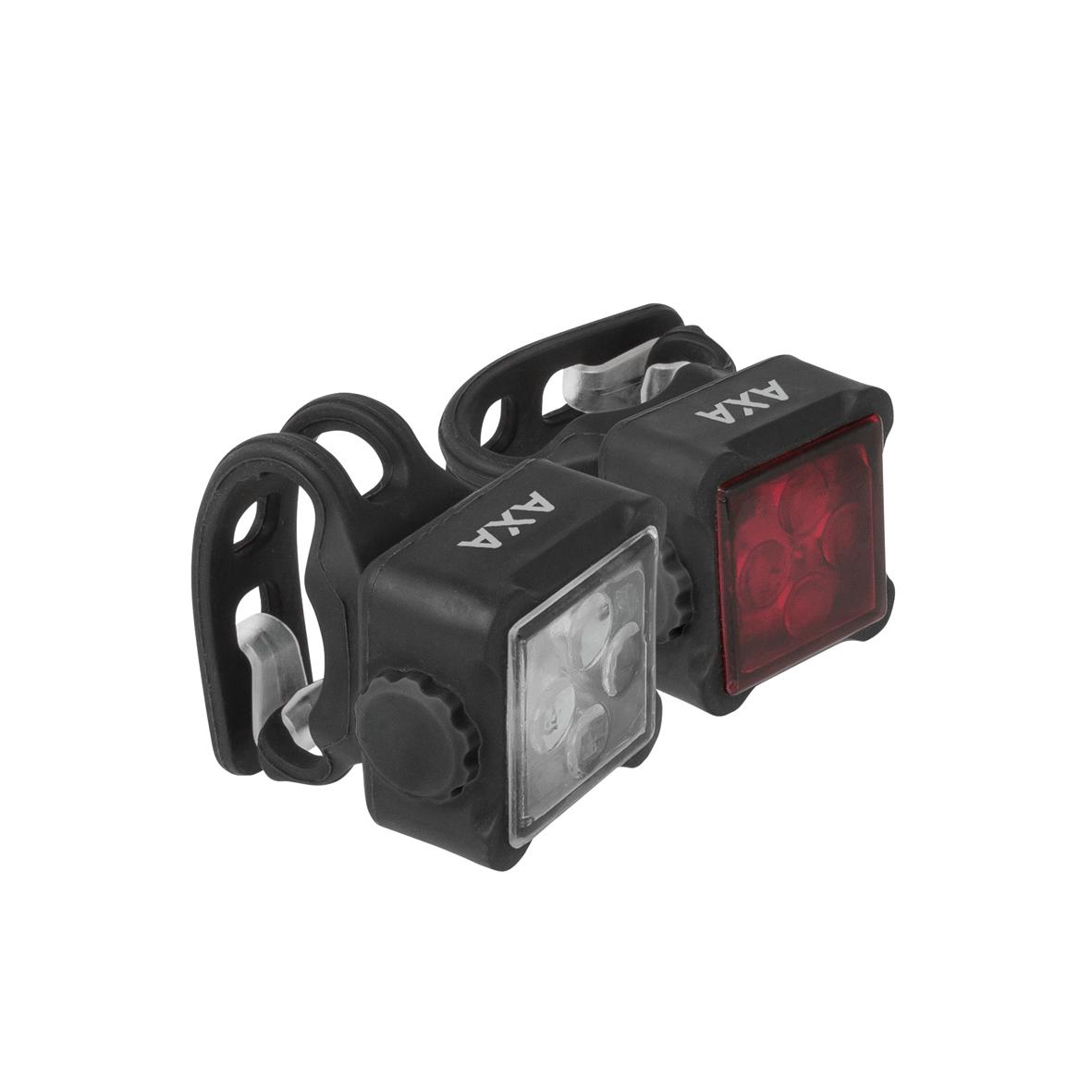 AXA NITELINE 44-R set přední a zadní LED světlo